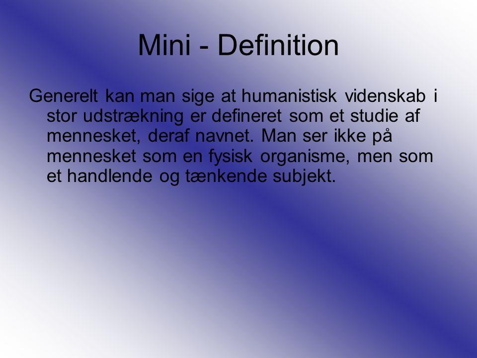 Mini - Definition