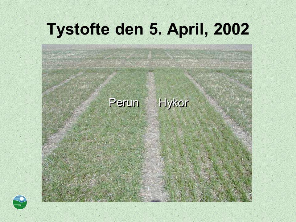 Tystofte den 5. April, 2002 Perun Hykor