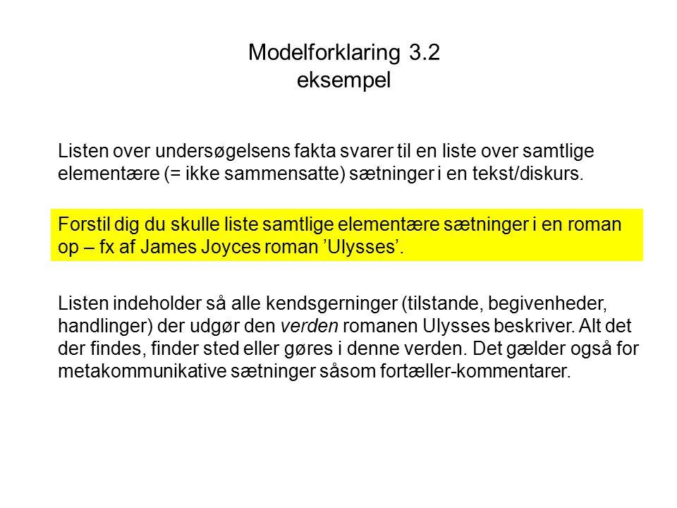 Modelforklaring 3.2 eksempel