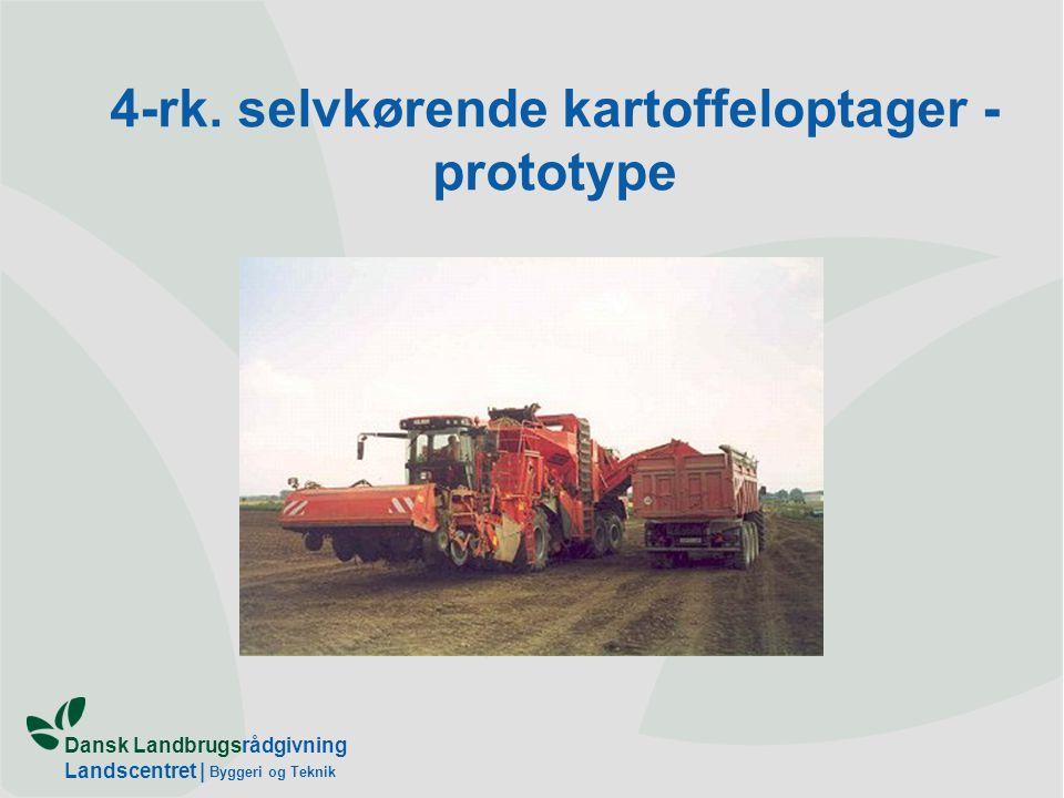 4-rk. selvkørende kartoffeloptager - prototype