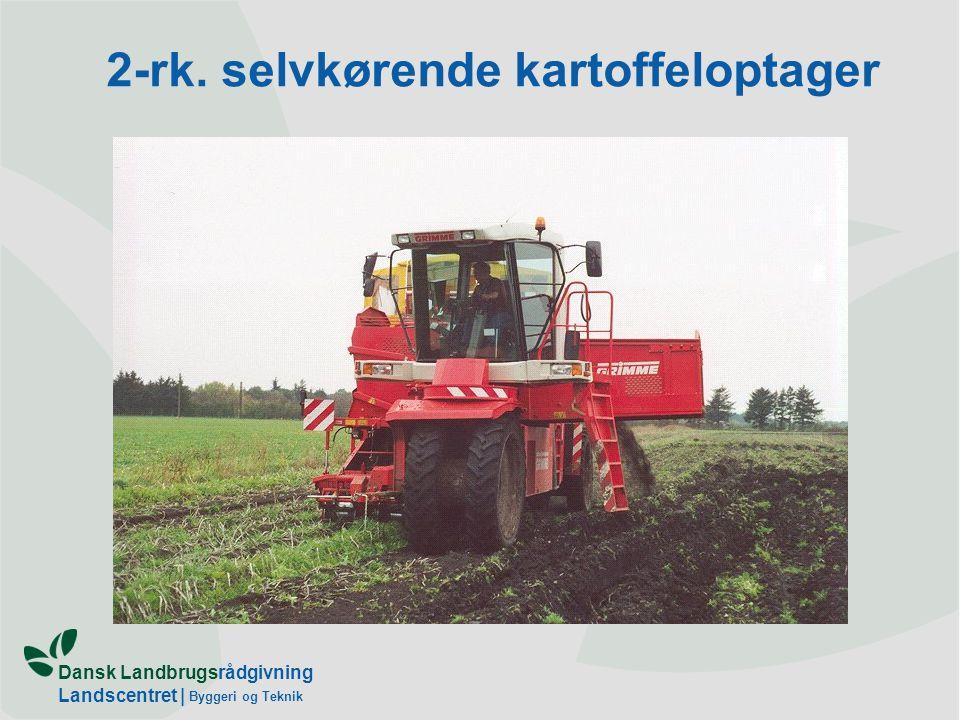 2-rk. selvkørende kartoffeloptager