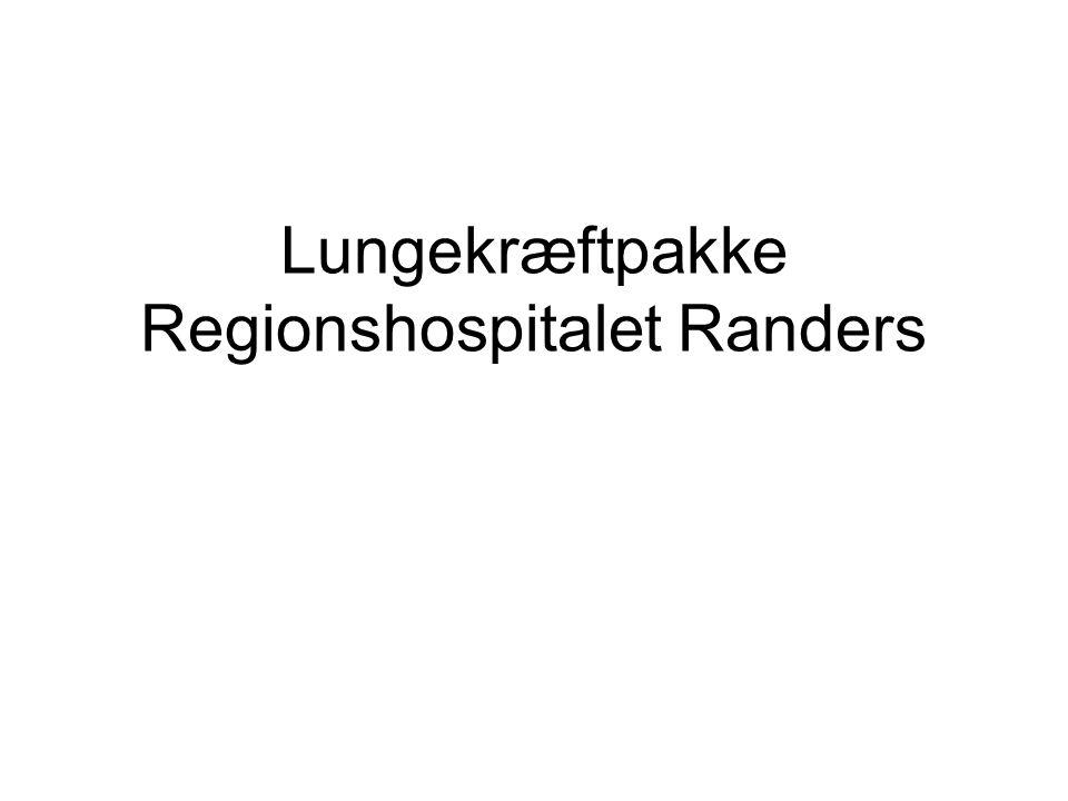 Lungekræftpakke Regionshospitalet Randers