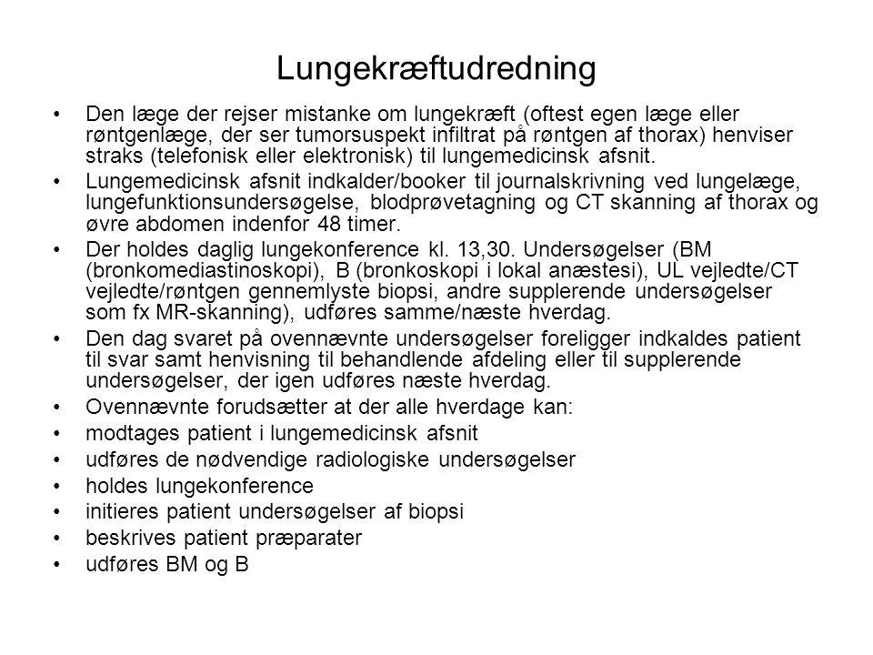 Lungekræftudredning