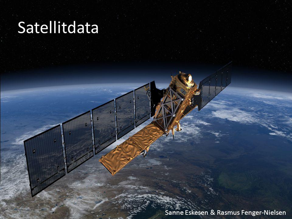 Satellitdata Sanne Eskesen & Rasmus Fenger-Nielsen