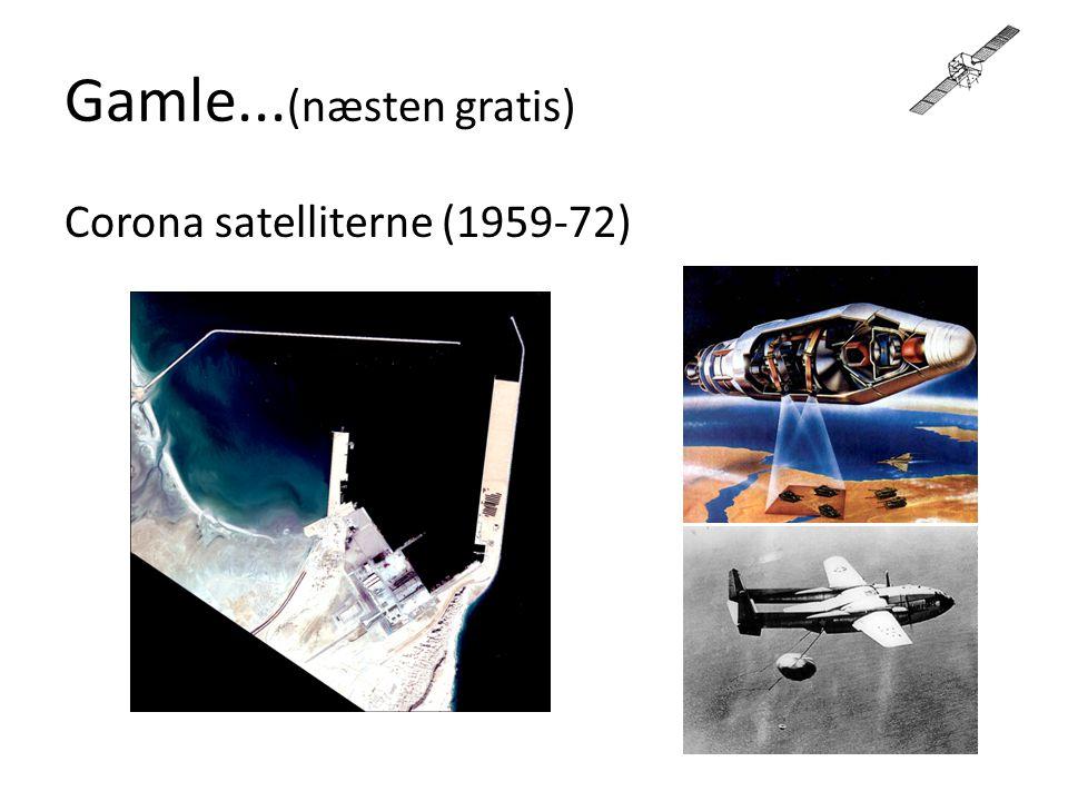 Gamle...(næsten gratis) Corona satelliterne (1959-72)