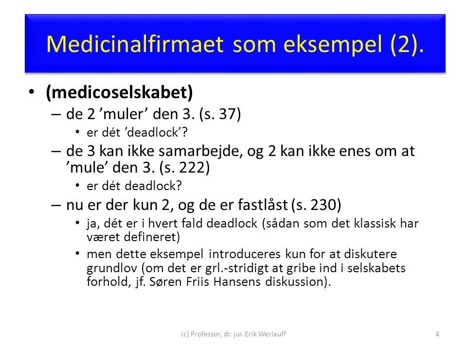 Medicinalfirmaet som eksempel (2).
