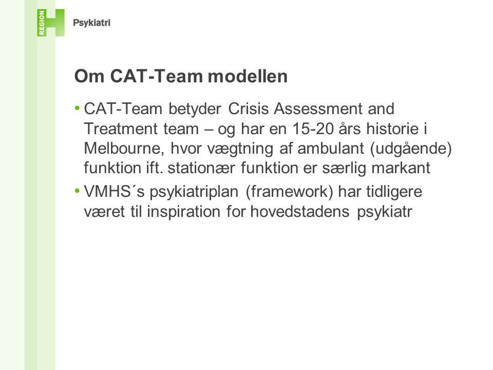 Om CAT-Team modellen