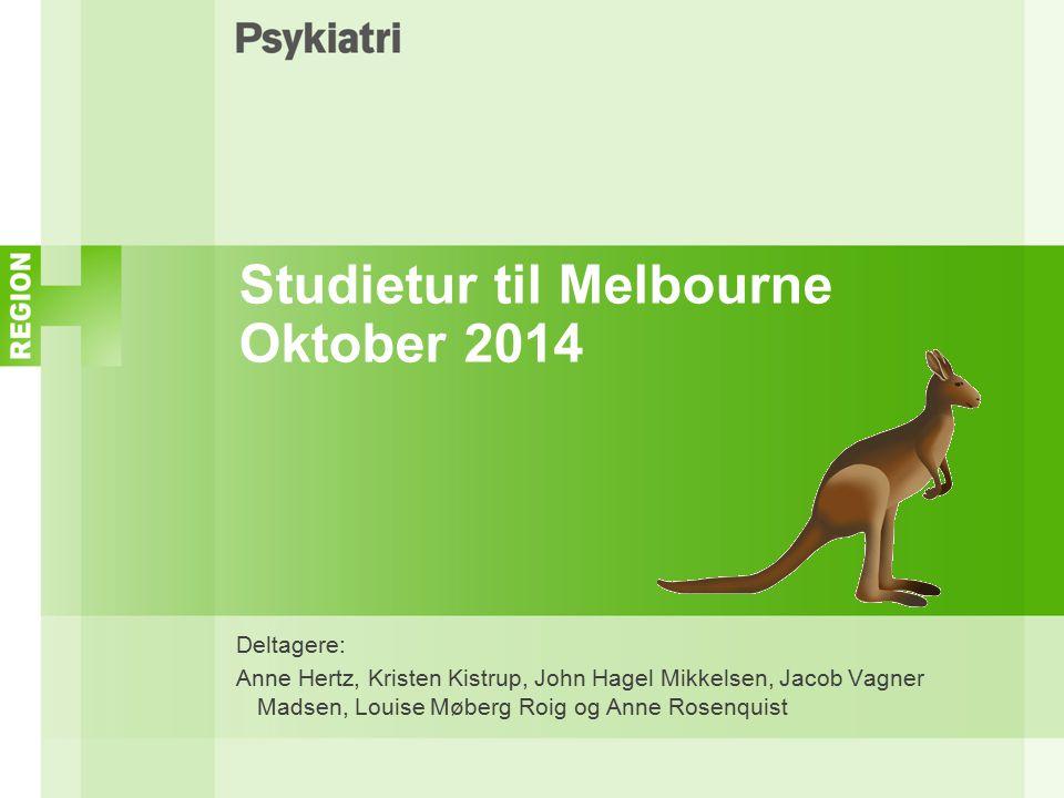 Studietur til Melbourne Oktober 2014