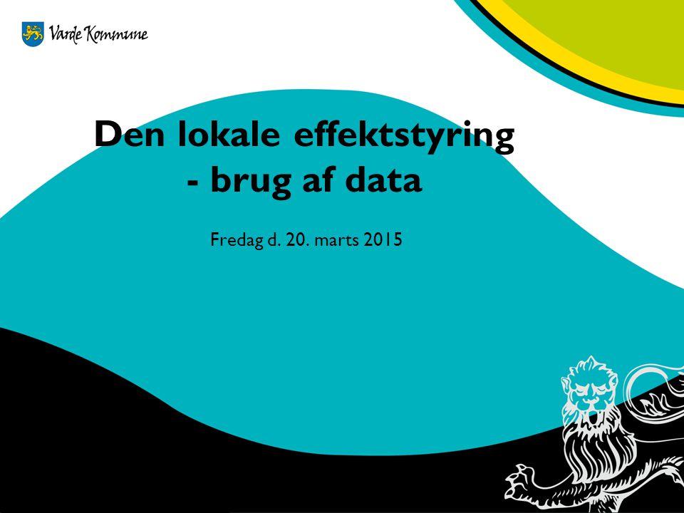 Den lokale effektstyring - brug af data
