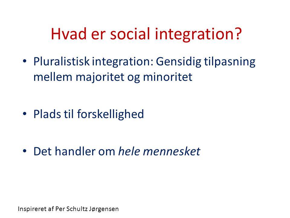 Hvad er social integration