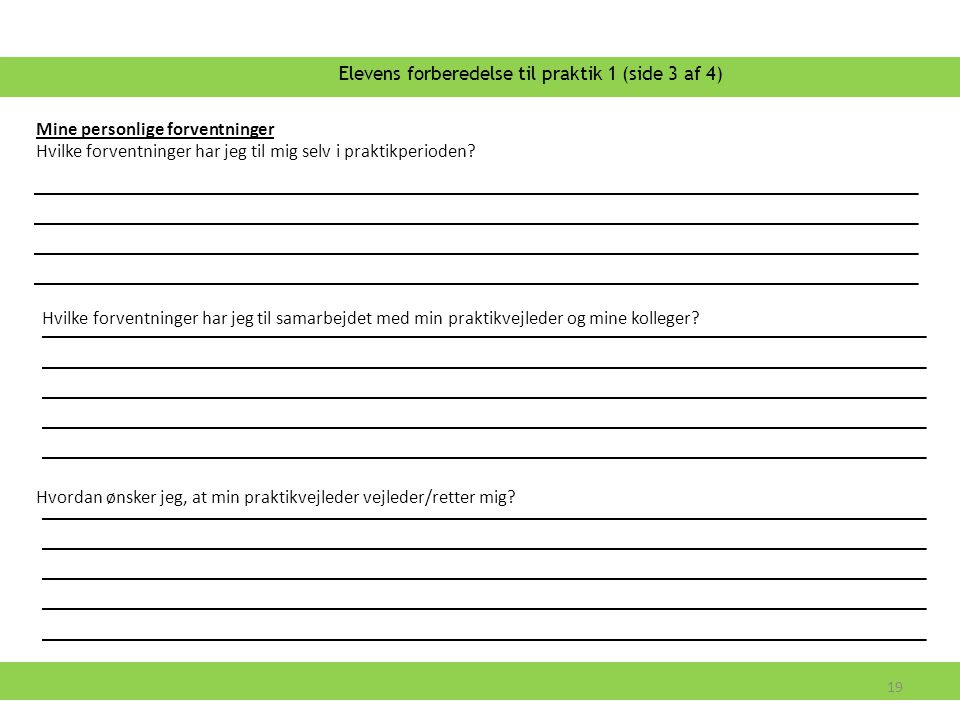 Elevens forberedelse til praktik 1 (side 3 af 4)