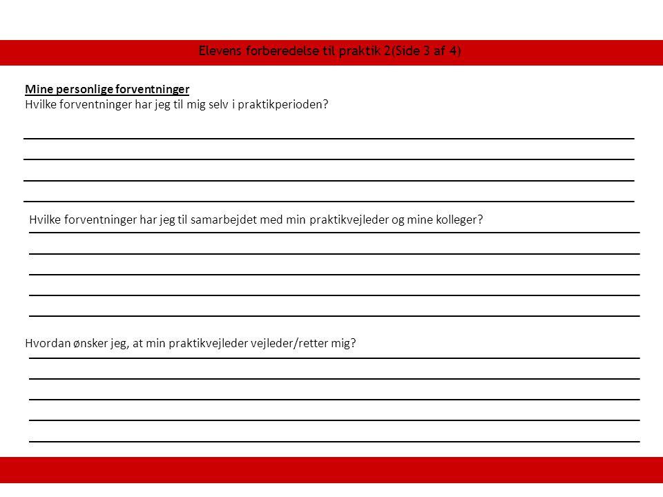 Elevens forberedelse til praktik 2(Side 3 af 4)