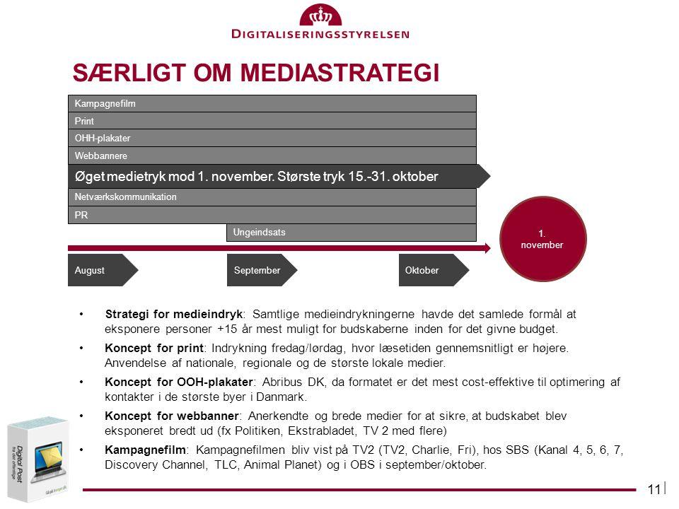 Særligt om MediAStrategi