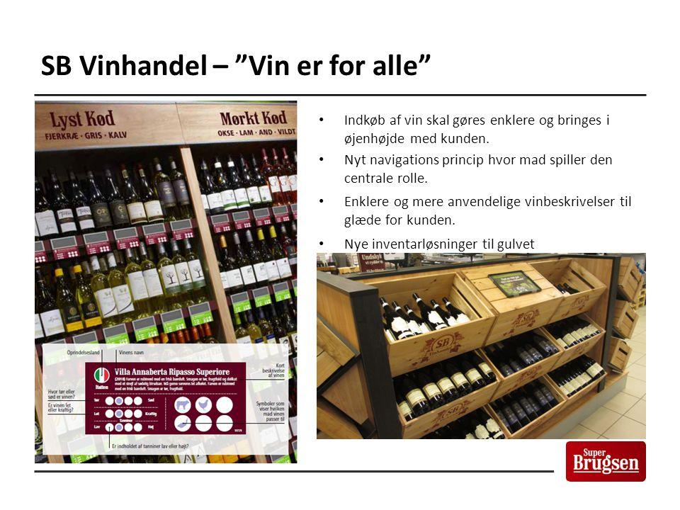 SB Vinhandel – Vin er for alle