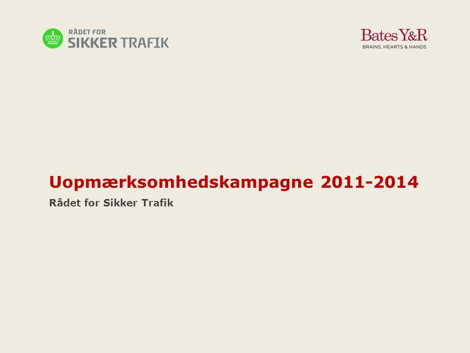 Uopmærksomhedskampagne 2011-2014