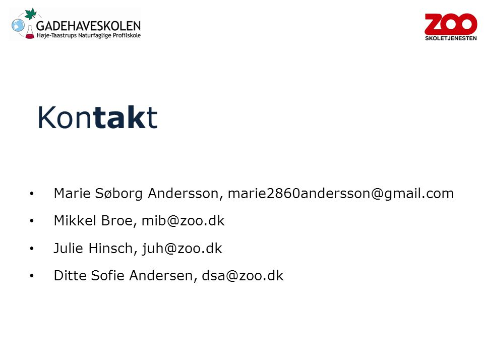 Kontakt Marie Søborg Andersson, marie2860andersson@gmail.com
