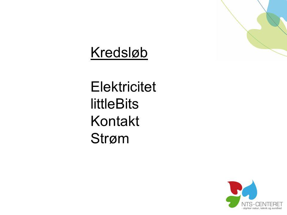 Kredsløb Elektricitet littleBits Kontakt Strøm