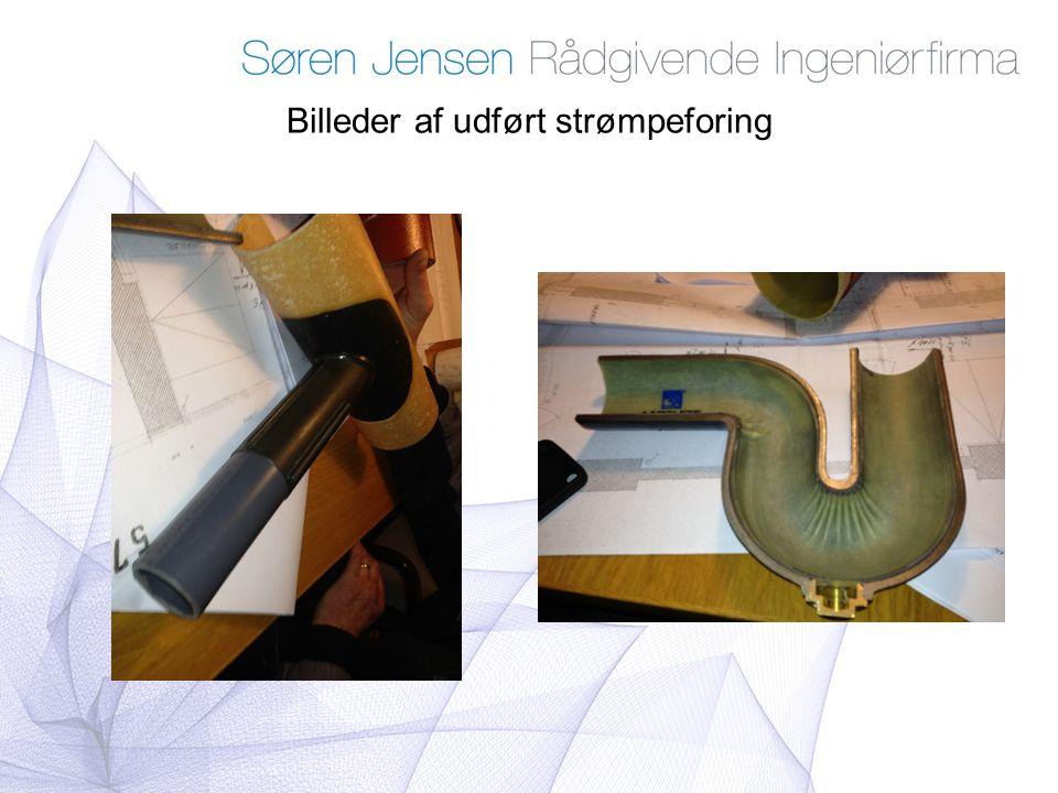 Billeder af udført strømpeforing