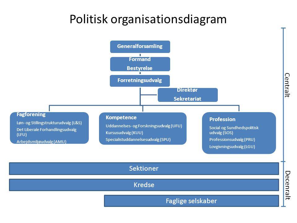 Politisk organisationsdiagram