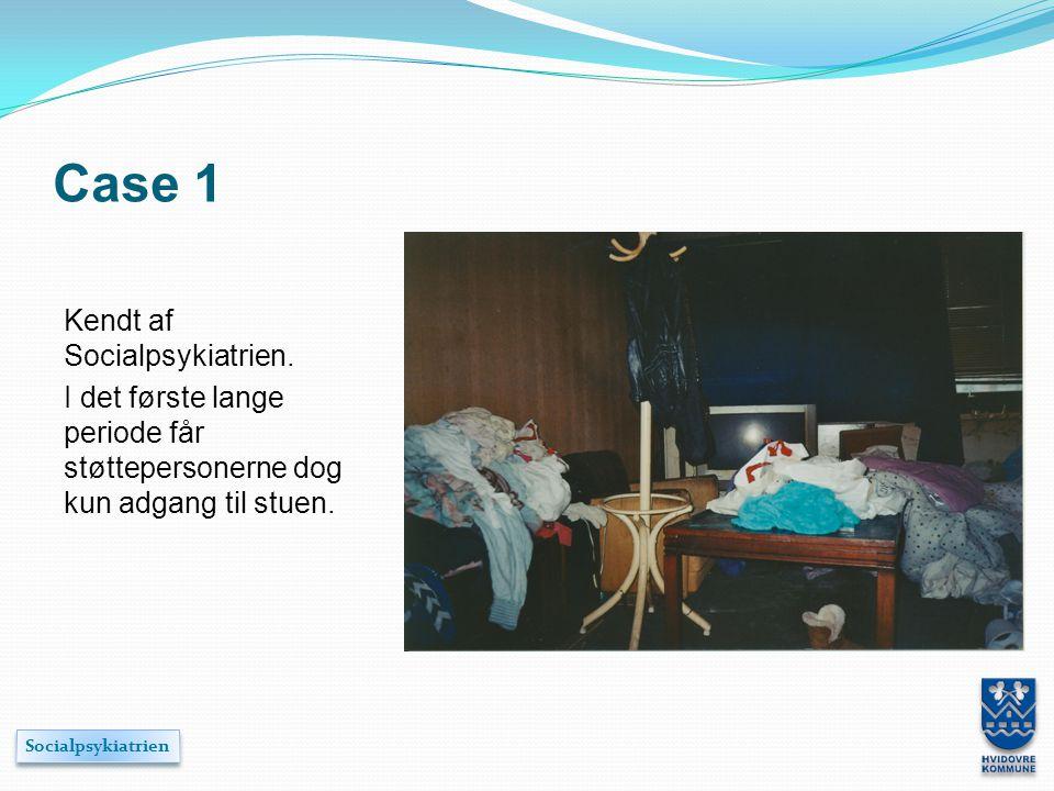 Case 1 Kendt af Socialpsykiatrien.