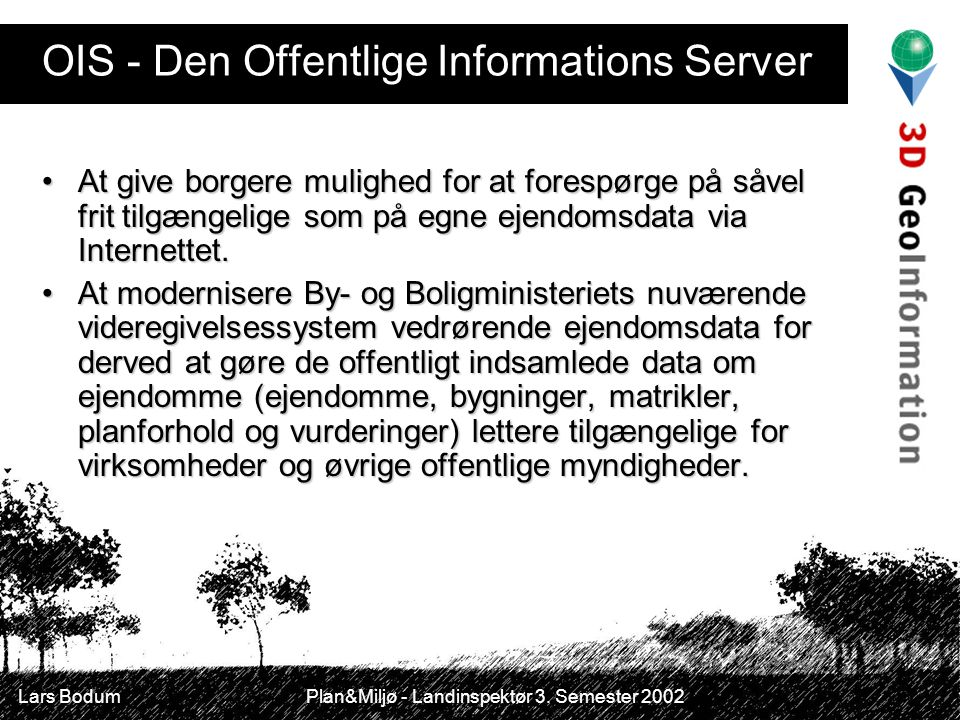 OIS - Den Offentlige Informations Server