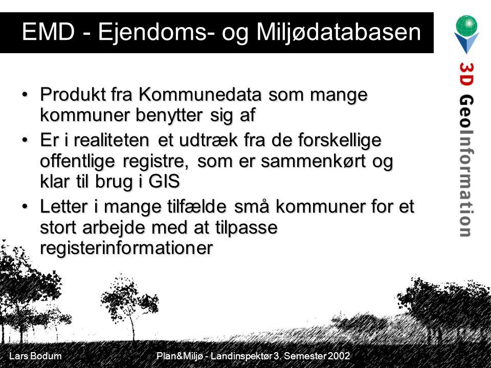 EMD - Ejendoms- og Miljødatabasen