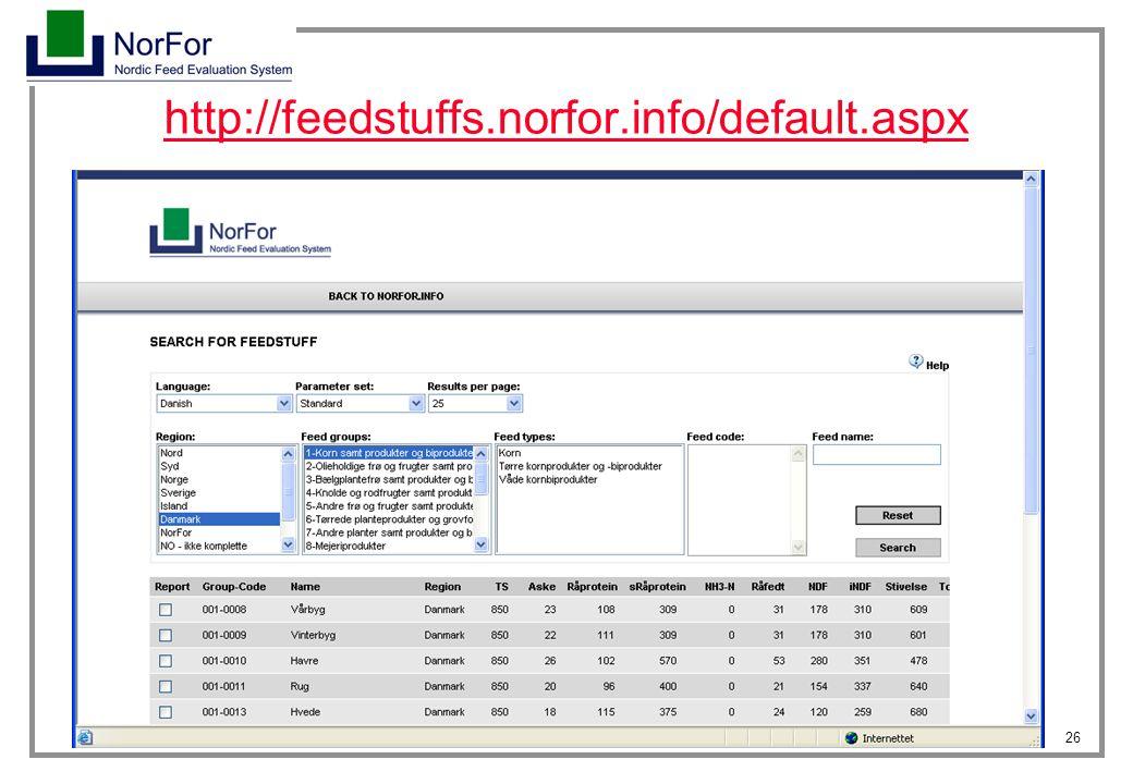http://feedstuffs.norfor.info/default.aspx