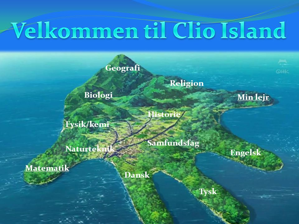 Velkommen til Clio Island