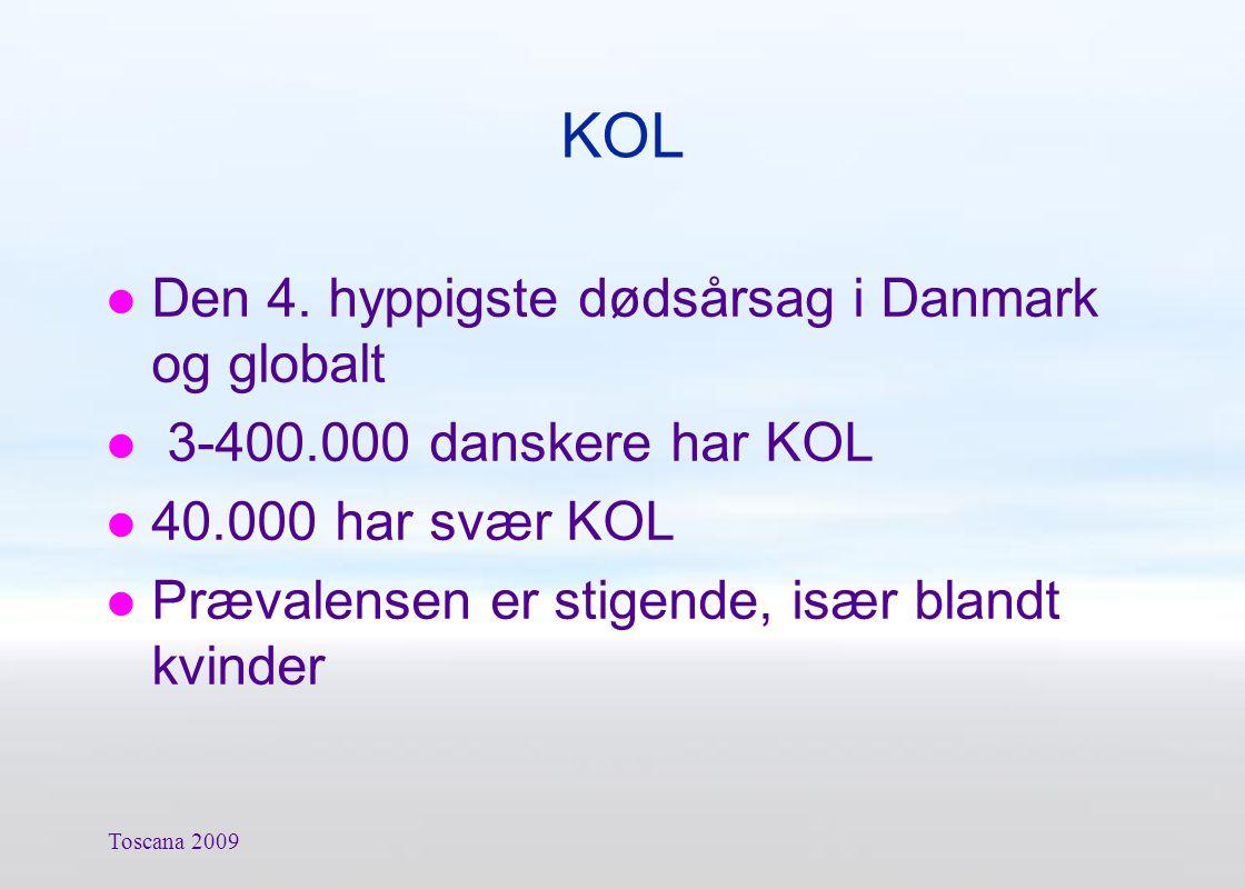 KOL Den 4. hyppigste dødsårsag i Danmark og globalt