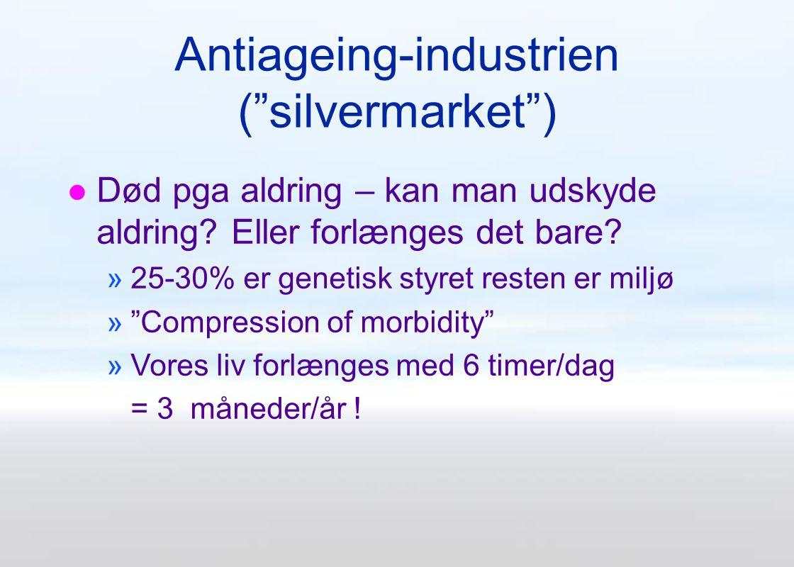 Antiageing-industrien ( silvermarket )