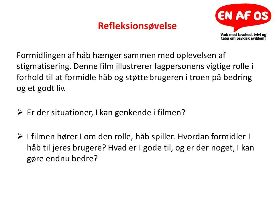 Refleksionsøvelse