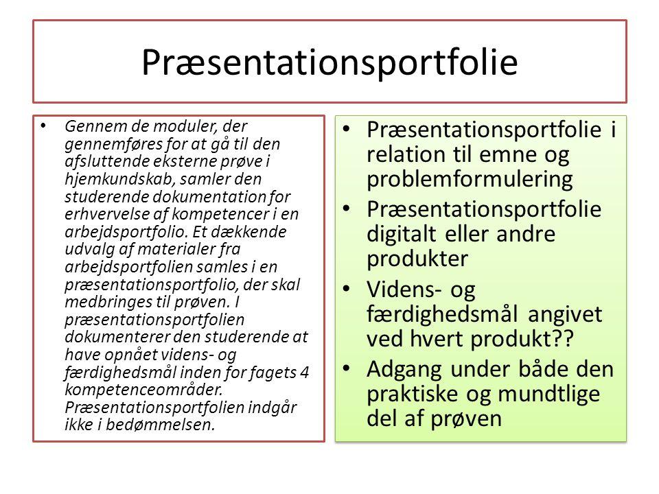 Præsentationsportfolie