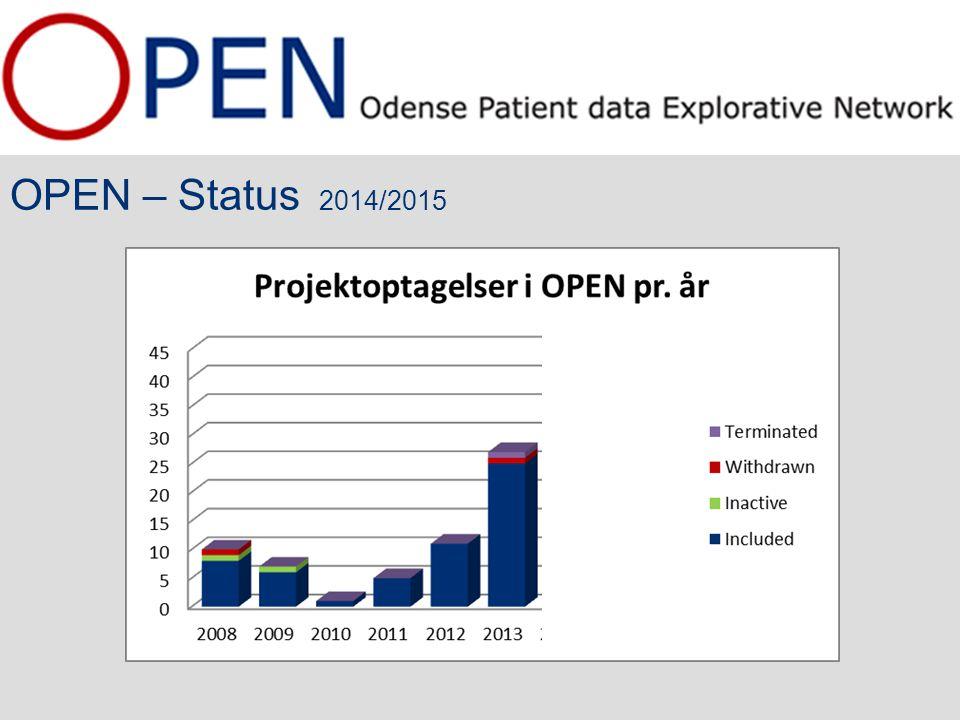 OPEN – Status 2014/2015