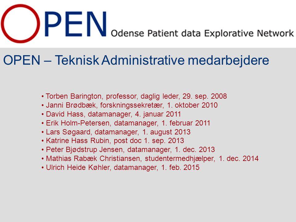 OPEN – Teknisk Administrative medarbejdere