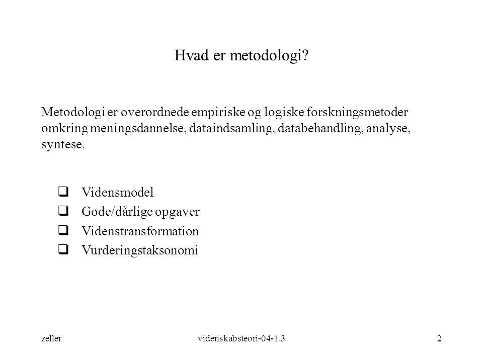 Hvad er metodologi