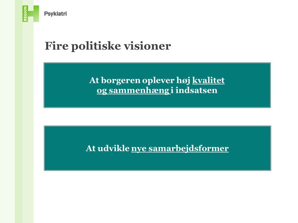 Fire politiske visioner