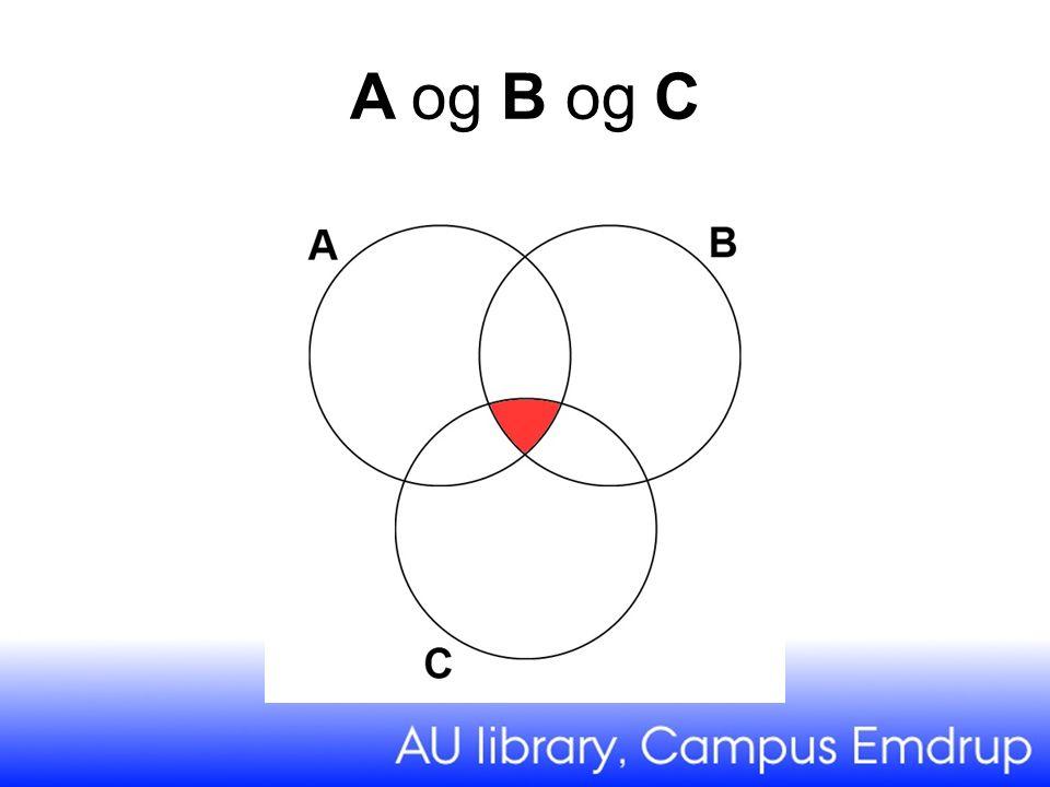A og B og C