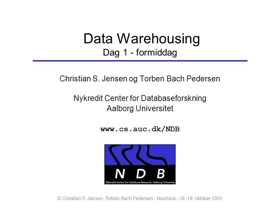Data Warehousing Dag 1 - formiddag
