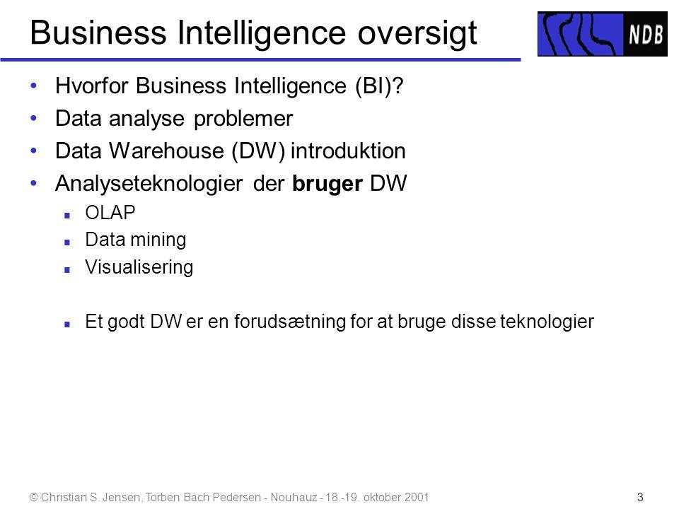 Business Intelligence oversigt