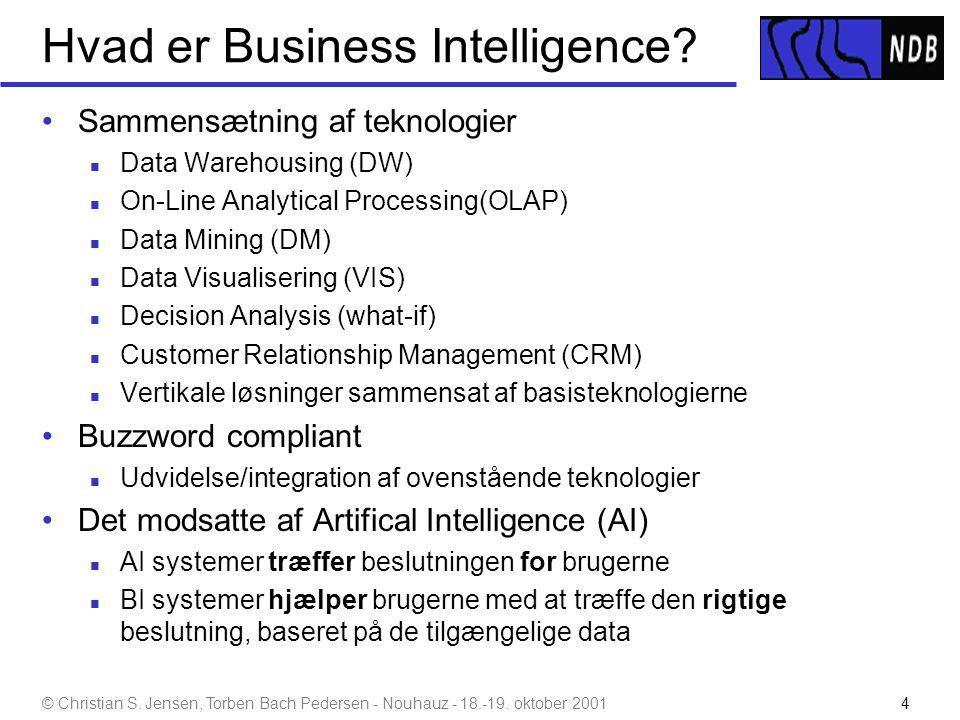Hvad er Business Intelligence