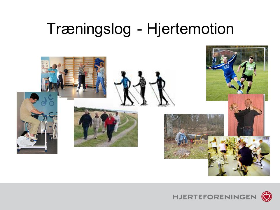Træningslog - Hjertemotion