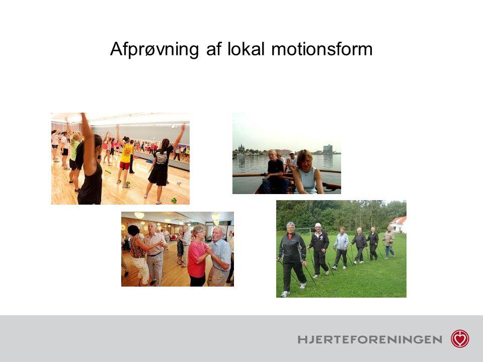 Afprøvning af lokal motionsform