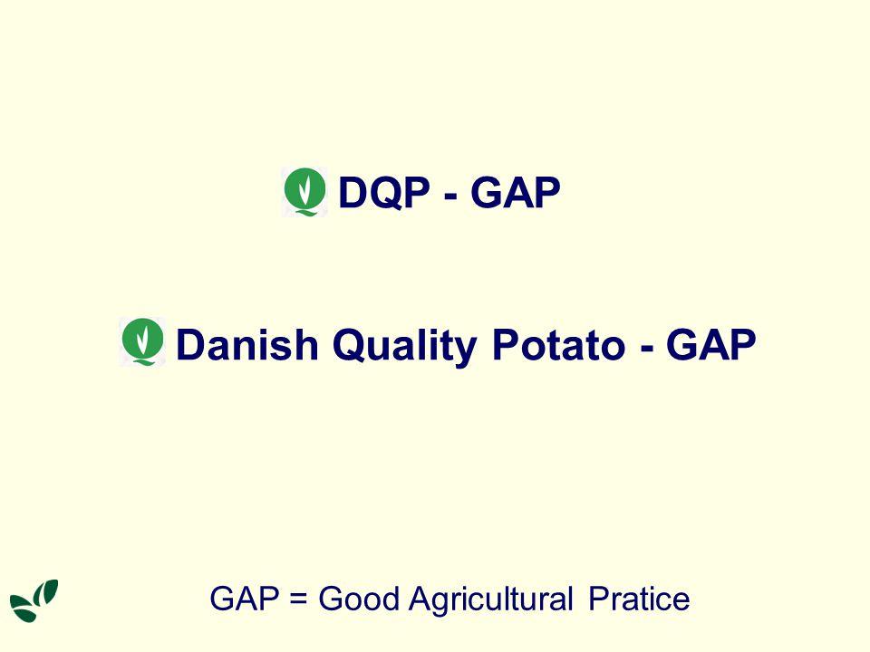Danish Quality Potato - GAP