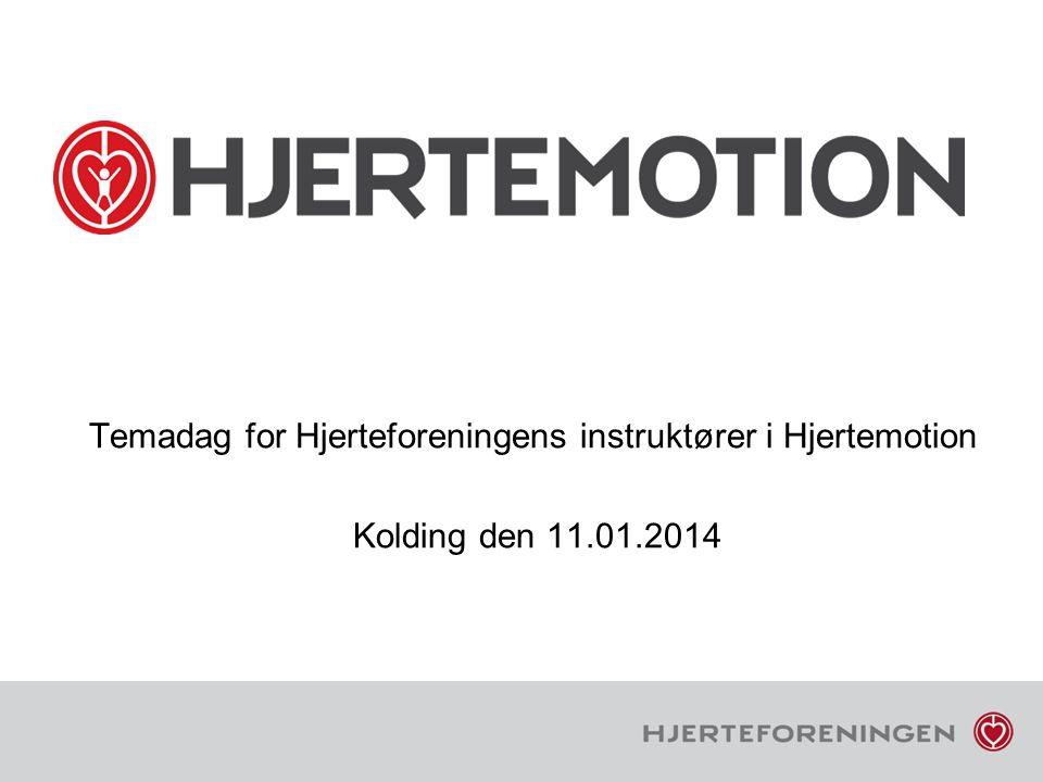 Temadag for Hjerteforeningens instruktører i Hjertemotion Kolding den 11.01.2014