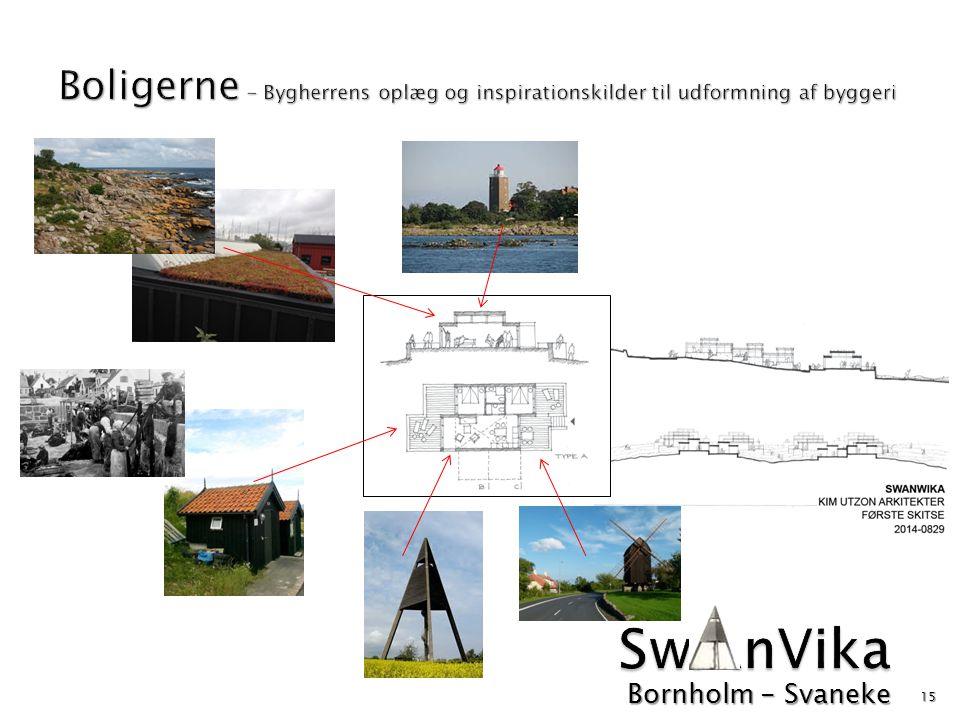 Boligerne - Bygherrens oplæg og inspirationskilder til udformning af byggeri