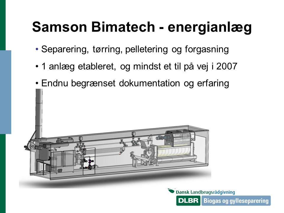 Samson Bimatech - energianlæg