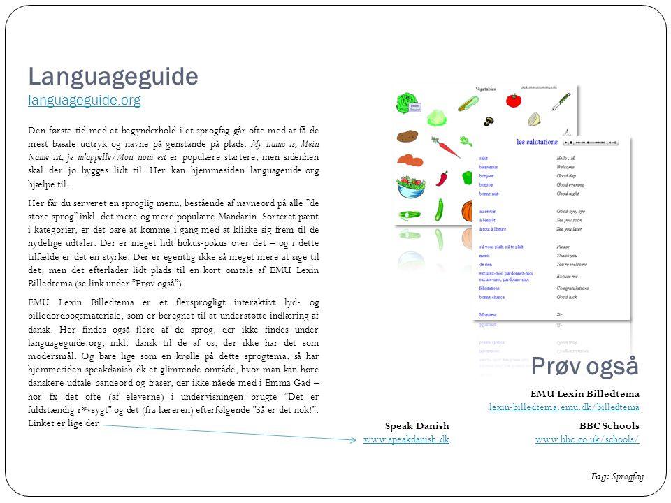 Languageguide languageguide.org