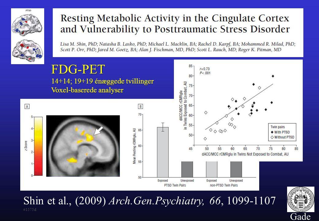 FDG-PET Shin et al., (2009) Arch.Gen.Psychiatry, 66, 1099-1107 #1575d