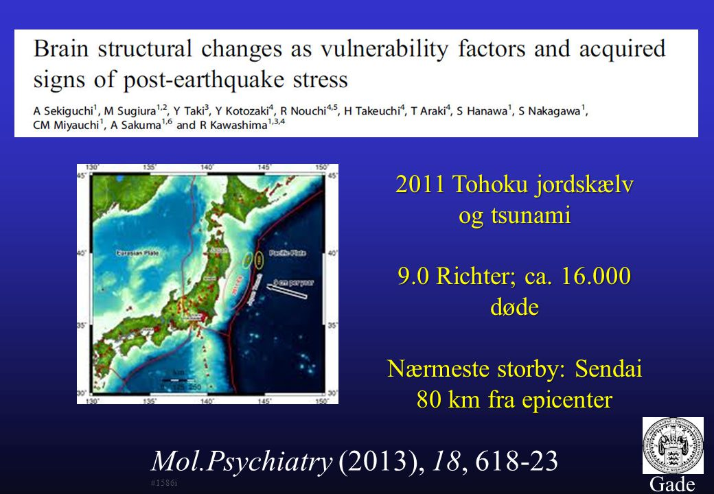 2011 Tohoku jordskælv og tsunami