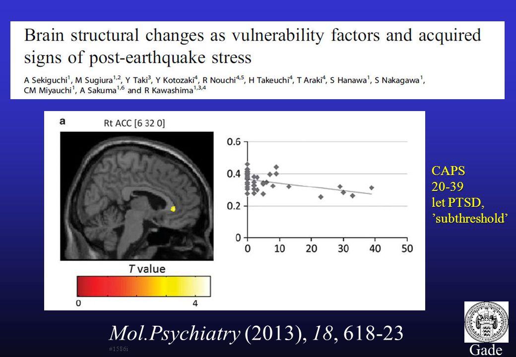 Mol.Psychiatry (2013), 18, 618-23 #1586i Gade